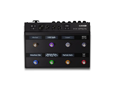 Line 6 HX Effects Multi Pedal Black,