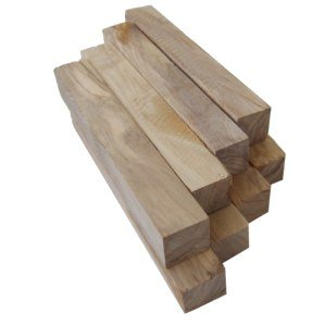Holy Land Market 8 Olive wood pen blanks - air dried (0.75x 0.75 x 5.1)