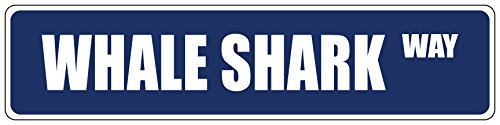 Street Shark Sign (Whale Shark Blue 4
