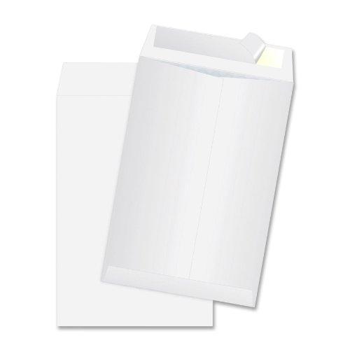 100 - Plain White Paper Envelopes Self Seal Adhesive 6.5'' x 9.5'' (150 GSM)