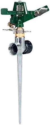 Orbit 58019N Zine Impact Sprinkler with Zinc Flow-Thru Spike
