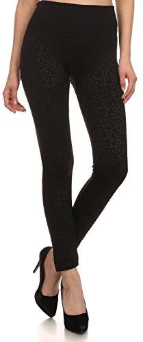 Sakkas YC1501 - Women's Patterned Soft Fleece Lined High