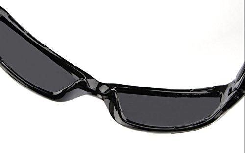 Black de conducen Gafas Que magnesio del Accesorios de Black Lente la Hombres Sol Sol Color de Gafas Tonos Matte la para Vendimia Jusheng brown polarizada Hombre del Aluminio Gafas wqAFx