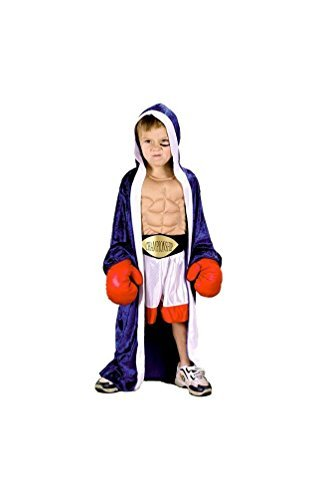 [Li'l Champ Costume - Toddler Large] (Boxing Halloween Costumes)