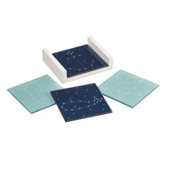 Constellation Glass Coaster Set of 4