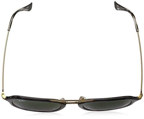 Gafas Negro Ban de Hombre inyectadas Black sol Ray 74YqwEx1q