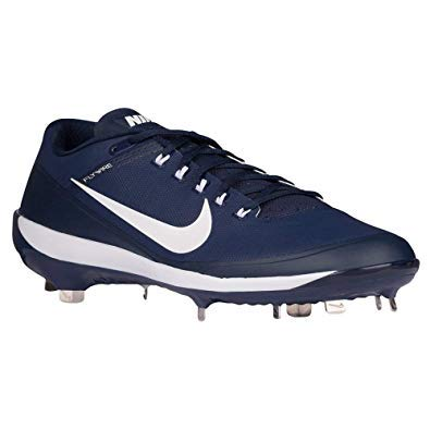hot sale online b2805 cf94a Nike Men s Max Air Clipper  17 Baseball Softball Metal Cleats Cleated  Shoes, Navy Blue White Size 7 (M) US
