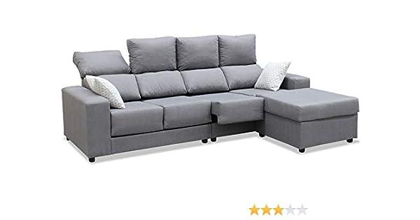 Mueble Sofa Chaiselongue, Subida Domicilio, 4 Plazas, Color ...