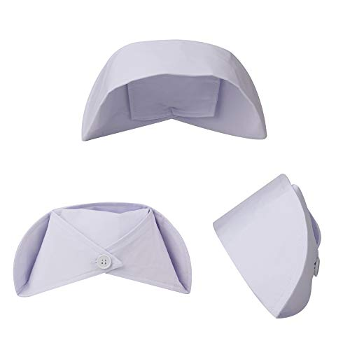 sansheng 3PCS nurses'caps/Red Cross Nurses' caps - Accessories for nurses'clothes/Female Nurses' caps (White)]()