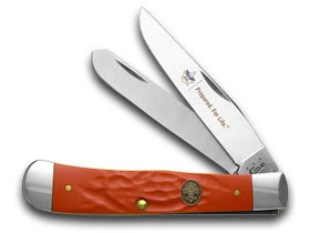 Case Cutlery 7997 Boy Scouts of America Trapper Rough Red Synthetic Handle by Case