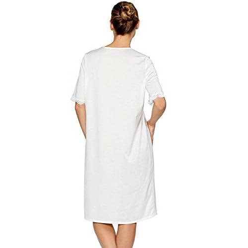 Mobisi Women s White Cotton Victorian Vintage Nightgown Long Sleeve Martha  Lawn Ballet Sleep Shirt Dress outlet da0c7b28c
