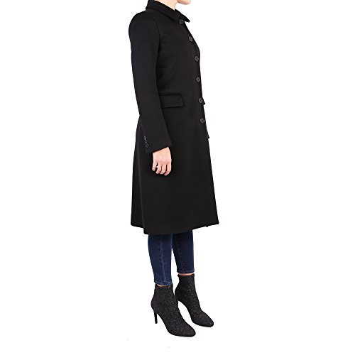 Manteau 0714535501241 Femme Laine Noir Aspesi CZwqa