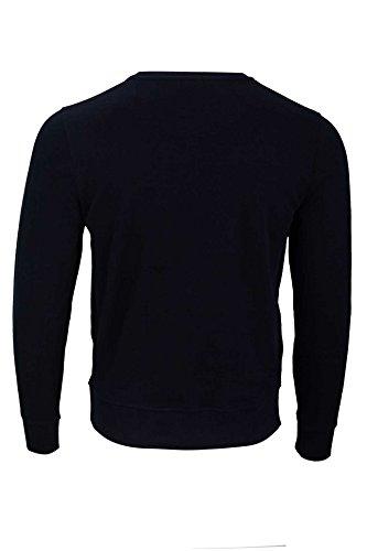 Kitaro Herren Pullover Sweatshirt FELPA, Farbe: Dunkelblau, Größe: M