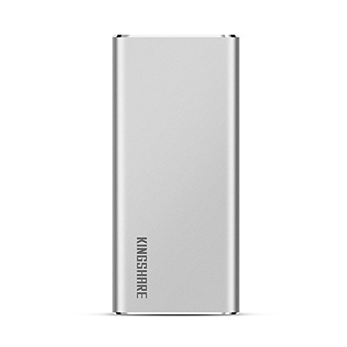 KINGSHARE S8 SSD 480GB USB3.0 Type C External Solid State Drive Portable SSD with UASP Support-Silver (480GB) by KINGSHARE (Image #2)