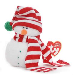 Frost Snowman - Ty Jingle Beanies Mr. Frost - Snowman