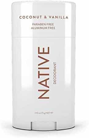 Native Deodorant - Natural Deodorant For Women & Men - Free of Aluminum, Parabens & Sulfates - Vegan, Gluten Free, Cruelty Free - Born in the USA - Coconut & Vanilla
