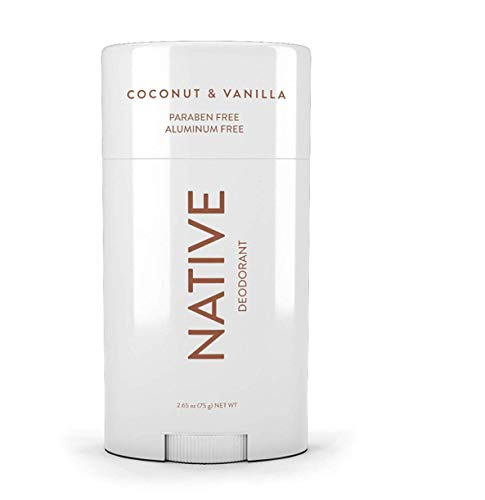Native Deodorant - Natural Deodorant For Women & Men - Vegan, Gluten Free, Cruelty Free - Free of Aluminum, Parabens & Sulfates - Born in the USA - Coconut & Vanilla