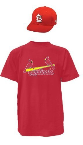 St. Louis Cardinals MLB Cap & Jersey (Official Major League Baseball Licensed Replica Hat