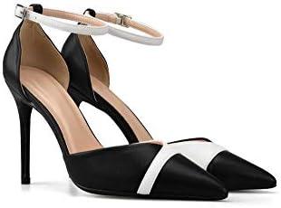 black small high heels