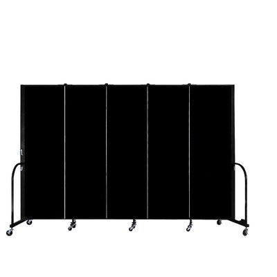 Commercial Edition Five Panel Portable Room Divider Color/Material: Sandalwood Vinyl, Size: (Screenflex Portable Room Partition Dividers)