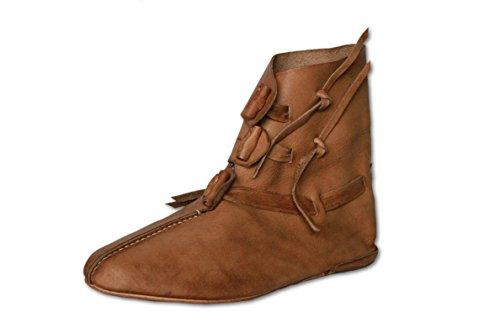 CP-Schuhe wendegenähte Mittelalterschuhe Wendeschuhe Frühmittelalter