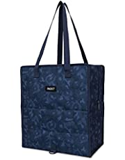 PackIt Freezable Grocery Shopping Bag with Zip Closure