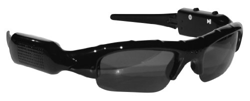 POV ACG-20 4 GB Action Video Camera Sunglass Combination (Black)