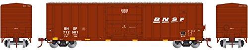 - Athearn HO RTR 50' FMC Superior Plug Door Box BNSF #712981