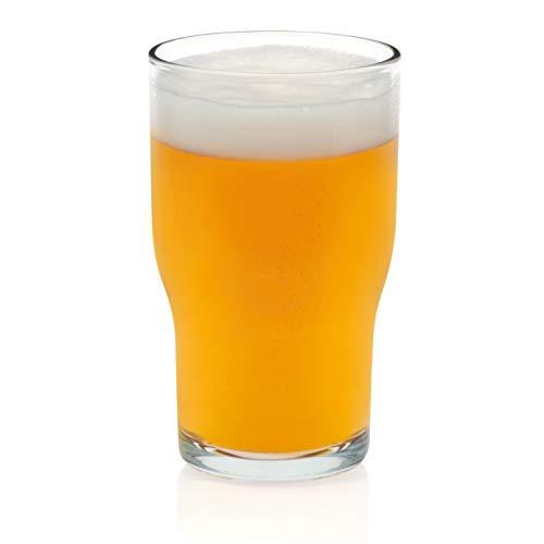 Libbey Lager Beer Glasses, Set of 8 - Lager Beer Glass
