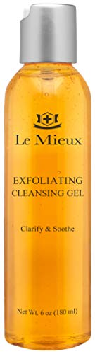 Le Mieux Exfoliating Cleansing Gel - Lactic & Salicylic Acid Face Wash (6 oz / 180 ml)