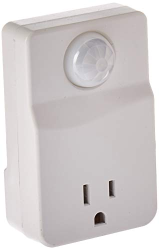 Westek MLC4BC Plug-in Motion Activated Control, 1-(Pack) White