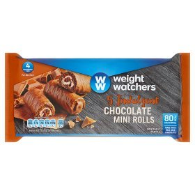 Weight Watchers Chocolate Mini Rolls 5pk