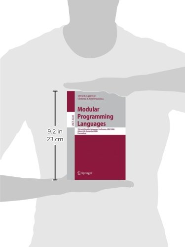 Modular Programming Languages: 7th Joint Modular Languages Conference, JMLC 2006, Oxford, UK, September 13-15, 2006, Proceedings (Lecture Notes in Computer Science)