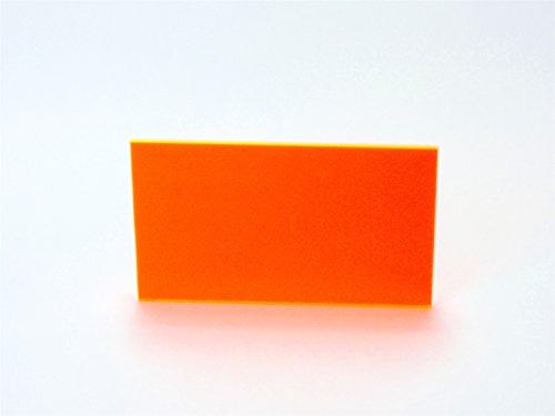 Falken Design falkenacrylic_9096_118_30x84 Acrylic Sheet, Plastic/Plexiglas/Lucite, 30'' x 84-1/8'', Neon by Falken Design Corporation