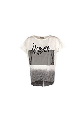 T-shirt Donna Lolita S Bianco P70229 Primavera Estate 2017