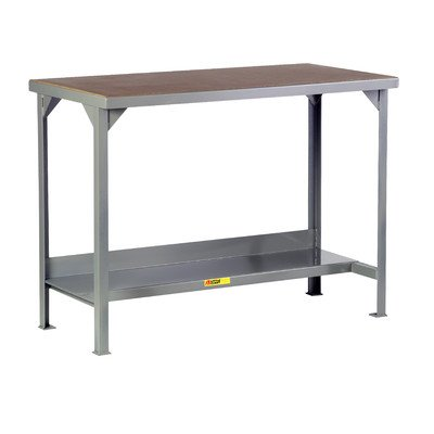 Little Giant 5000-Lb. Capacity Workbench With Hardboard-Over-Steel Top - 48X24'' Top - Without Shelf - Fixed