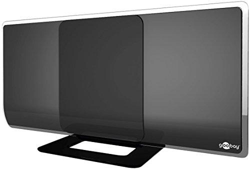 DVB-T2 Antenne aktiv mit Verstärker HDTV / Full HD Zimmerantenne (DAB / DVB-T)