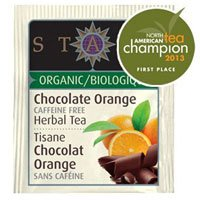 Stash Herbal Tea, Chocolate Orange, Caffeine Free, Bags, Pack of 3