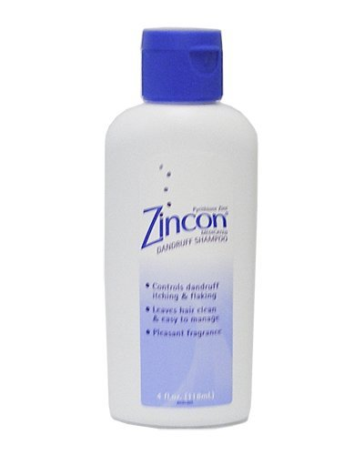 Zincon Medicated Dandruff Shampoo, 4 oz.
