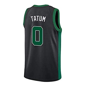 Jayson Tatum Boston Celtics 2018-2019 Temporada NBA Baloncesto Jersey Lebron James Kyrie Irving Kevin