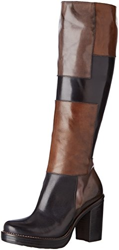 9884 Tequila WoMen Piu Donna Boots Nero Noa Multicolore Multi Sq1x7w