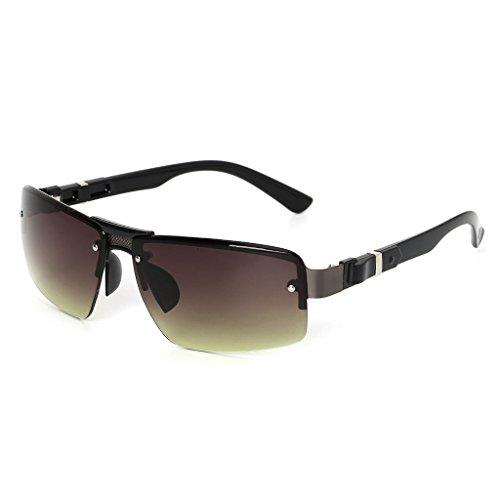 de 1 para UV400 Viento Resistentes Gafas para de Kimruida 3 Sol Hombre Lujo conducción al EOPfWq