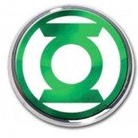 Elektroplate Green Lantern Seal Chrome Auto Emblem by Elektroplate