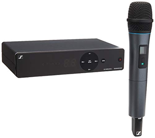 Sennheiser XSW 1-825-A Vocal Wireless Microphone, A Range 548-572 - Diversity Microphone Wireless Dual Receiver