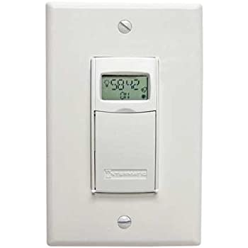 Timer Elect Wall Switch 120 277v 20a Wh Amazon Com