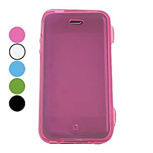 Protective TPU Full Body Case for iPhone 4/4S(Assorted Colors) --- COLOR:Blue