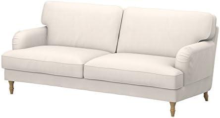 Soferia - IKEA STOCKSUND Funda para sofá de 3 plazas, Eco ...