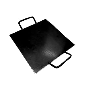 SK Metals Iron Square Dosa Tawa Double Handle