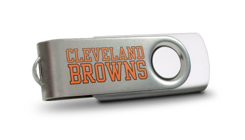 Centon Cleveland Browns Edition NFL DataStick Swivel 8 GB USB 2.0 Flash Drive ()