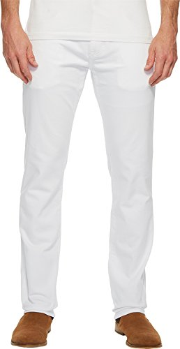 Mavi Jeans Men's Marcus Regular Rise Slim Straight Leg in Wh